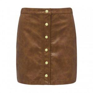 freva nw button down skirt