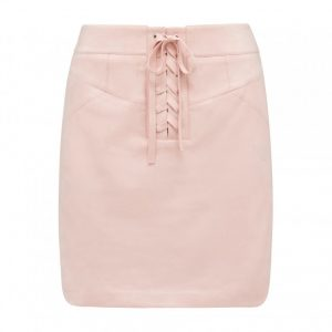 freva suede mini skirt