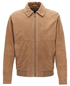 Suede aviator jackets