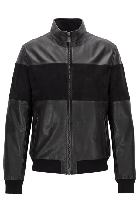 Regular-fit-hybrid-jacket-in-leather-and-suede-11